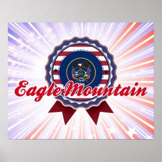 Montaña de Eagle, UT Poster