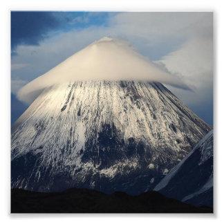 Montaña de Klyuchevskaya Sopka Cojinete