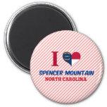 Montaña de la chaqueta de punto, Carolina del Nort Imanes