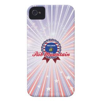 Montaña de la costilla, WI Case-Mate iPhone 4 Carcasas
