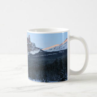 Montaña de la fortaleza taza clásica
