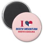Montaña de la haya, Carolina del Norte Imán De Frigorifico