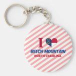 Montaña de la haya, Carolina del Norte Llavero Personalizado
