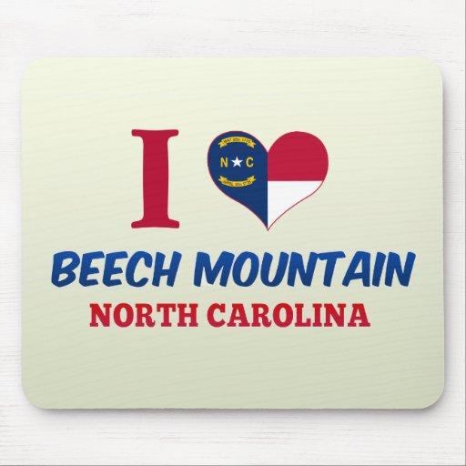 Montaña de la haya, Carolina del Norte Tapete De Ratón