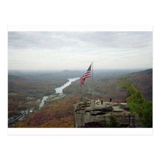 Montaña de la roca de la chimenea tarjetas postales