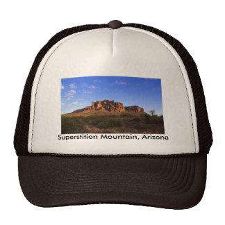 Montaña de la superstición gorras de camionero