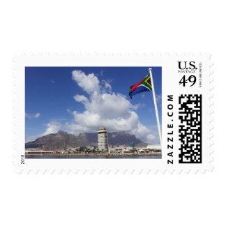 Montaña de la tabla, Cape Town, Suráfrica, sello