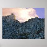 Montaña de la tabla de Cape Town Impresiones