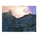 Montaña de la tabla de Cape Town Tarjetas Postales