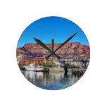 Montaña de la tabla del Waterfront_Painting.TIF Relojes