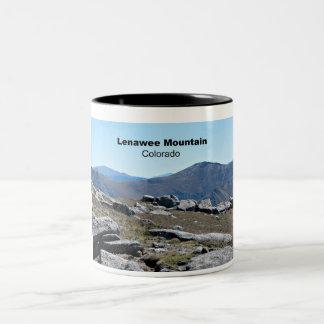 Montaña de Lenawee, Colorado Taza De Dos Tonos