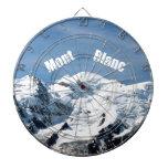 ¡Montaña de Mont Blanc - magnífica! Tabla Dardos