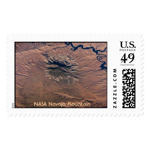 Montaña de Navajo de la NASA Franqueo