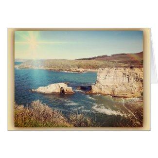 Montana De Oro Photo, Beach, Greeting Card