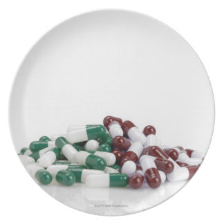 Montaña de píldoras platos