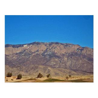 Montaña de Sandia, Albuquerque New México 2 Postales