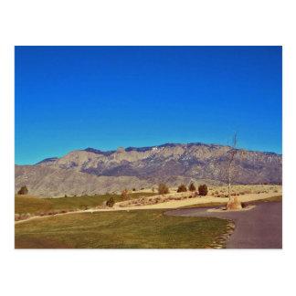 Montaña de Sandia, Albuquerque New México Tarjeta Postal