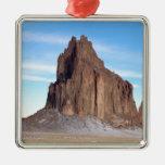Montaña de Shiprock, New México Ornamentos De Reyes