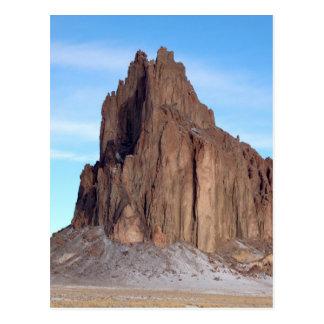 Montaña de Shiprock, New México Postal