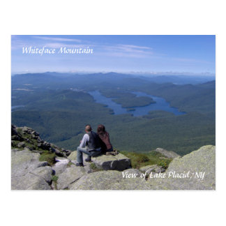 Montaña de Whiteface/postal del Lake Placid Postales