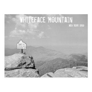 Montaña de Whiteface Tarjeta Postal