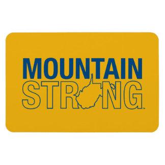 Montaña de WVU fuerte Rectangle Magnet