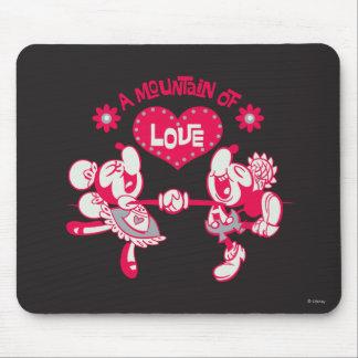 Montaña de Yodelberg Mickey el | del amor Alfombrillas De Raton