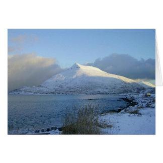 Montaña del Ballyhoo en el puerto holandés, AK Felicitación