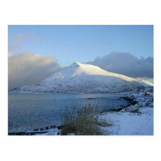 Montaña del Ballyhoo, puerto holandés, AK Tarjetas Postales