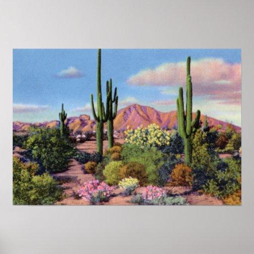 Montaña del Camelback de Phoenix Arizona Impresiones