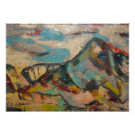 Montaña del color de DSCN9756 S Shano grande Posters