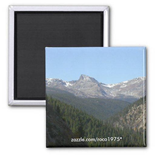 Montaña del diente de sierra, Colorado Imán