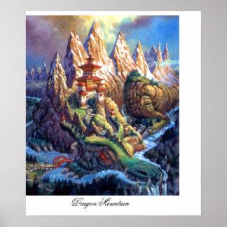 Montaña del dragón poster