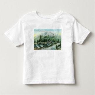 Montaña del ferrocarril pacífico meridional camisas