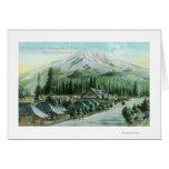 Montaña del ferrocarril pacífico meridional tarjetas
