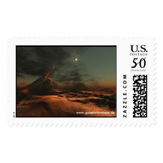 Montana del Fuego - Postage