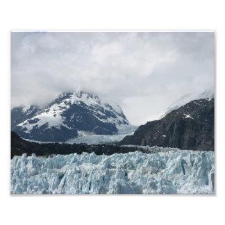 Montaña del glaciar cojinete