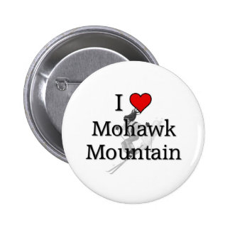 Montaña del Mohawk del amor Pins