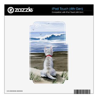 Montaña del oeste Terrier iPod Touch 4G Skin