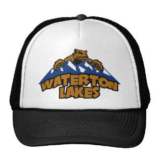 Montaña del oso de los lagos Waterton Gorros