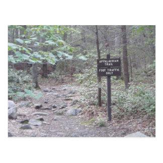 montaña del sur de Pennsylvania del rastro apalach Tarjetas Postales