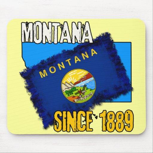 Montana, desde 1889 tapetes de ratón