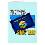 Montana, desde 1889 tarjetón