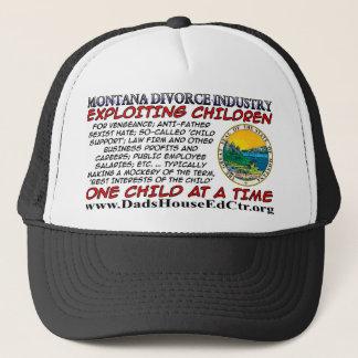 Montana Divorce Industry. Trucker Hat
