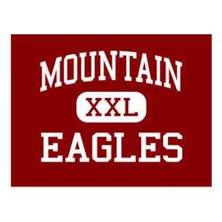 Montaña - Eagles - alta - punta de flecha del lago Postal