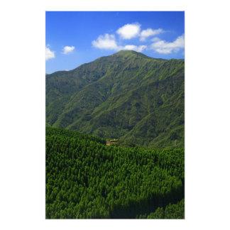 Montaña en las islas de Azores Impresiones Fotográficas