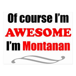 Montana es impresionante tarjeta postal