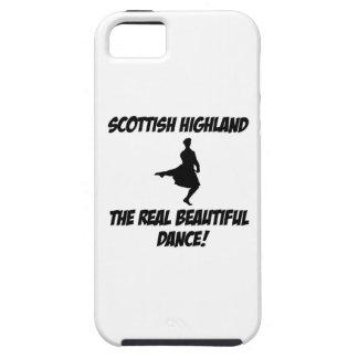 montaña escocesa dance.png iPhone 5 Case-Mate funda