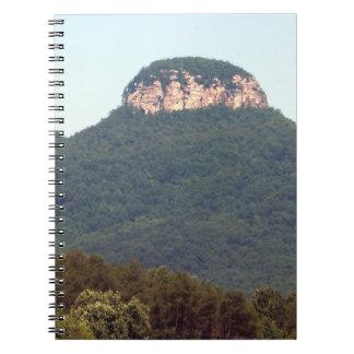 Montaña experimental libreta espiral