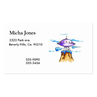 Montaña extranjera tarjetas de visita